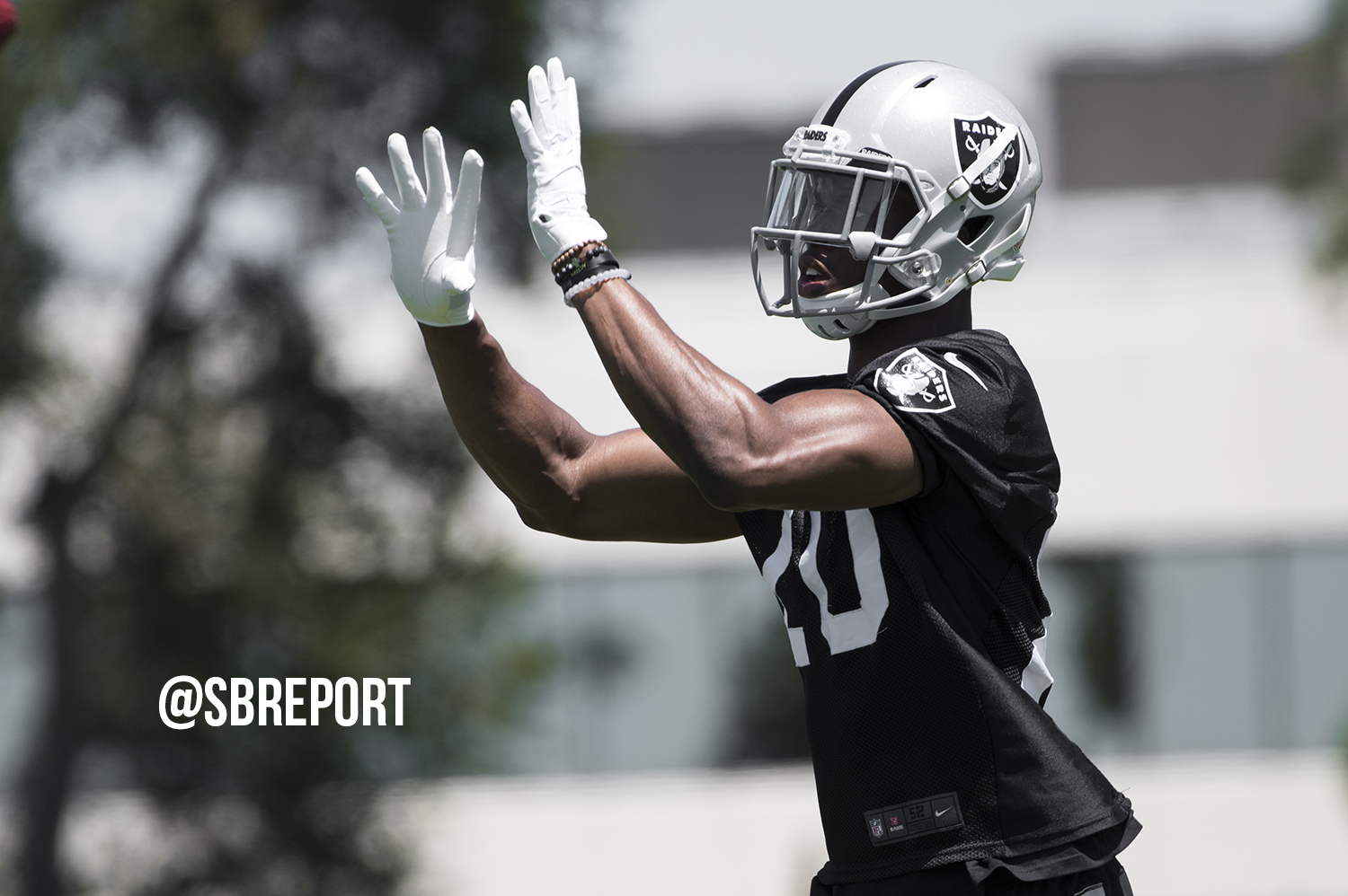 Raiders second-round pick out half the year