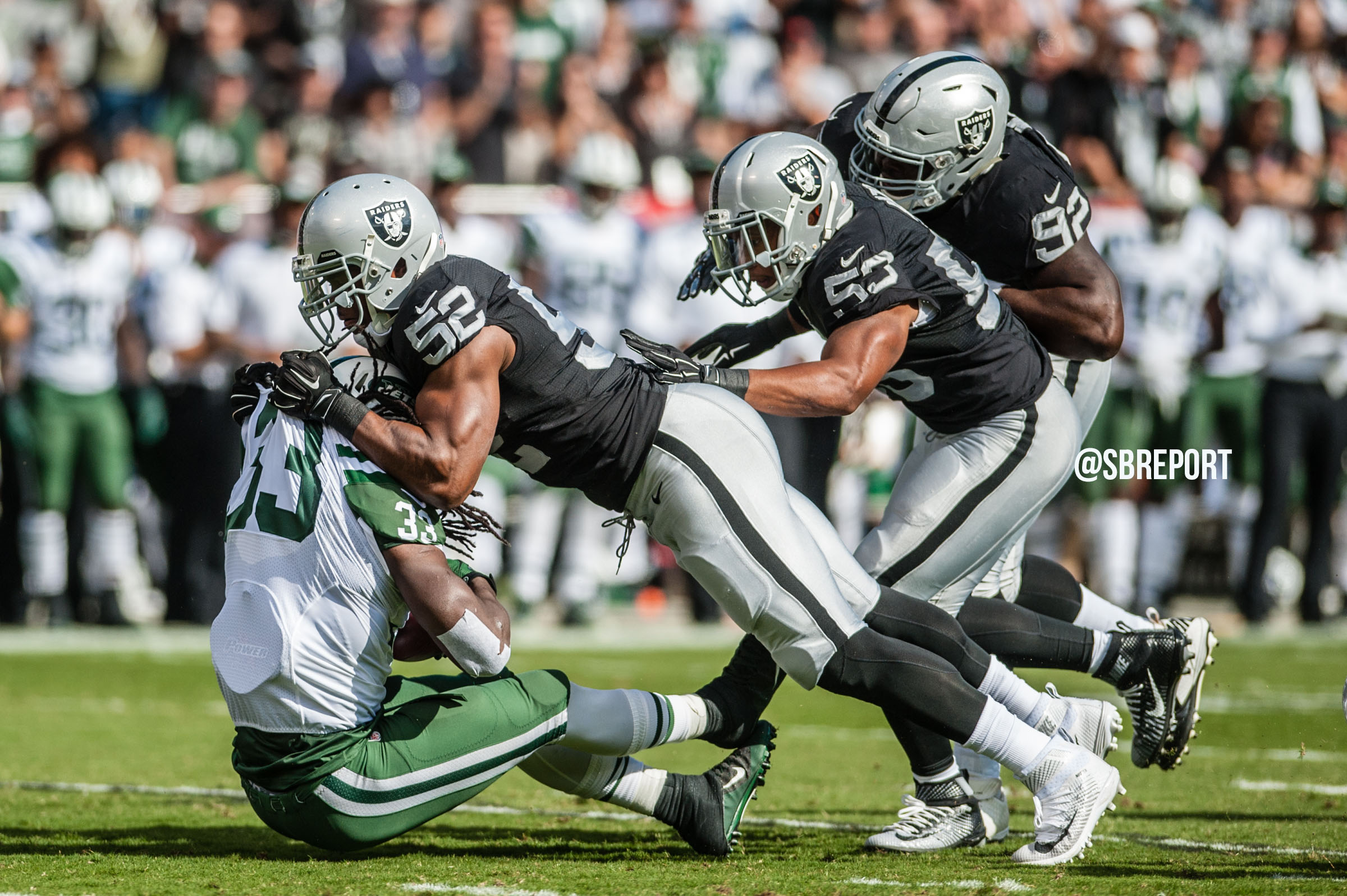 New York Jets @ Oakland Raiders Broadcast Info