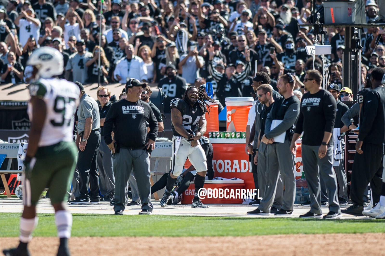 WATCH: Marshawn Lynch puts it down for The Town in Raiders win