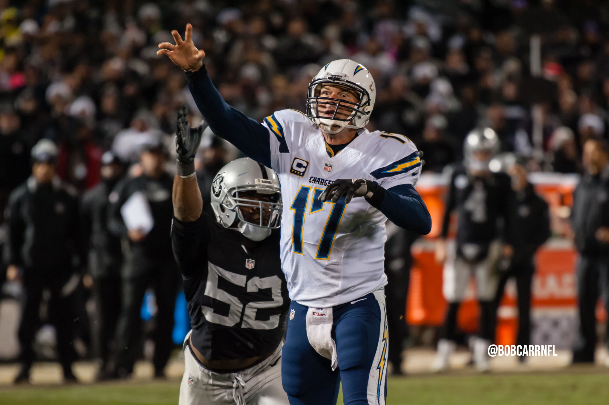 Chargers @ Raiders – Broadcast Info