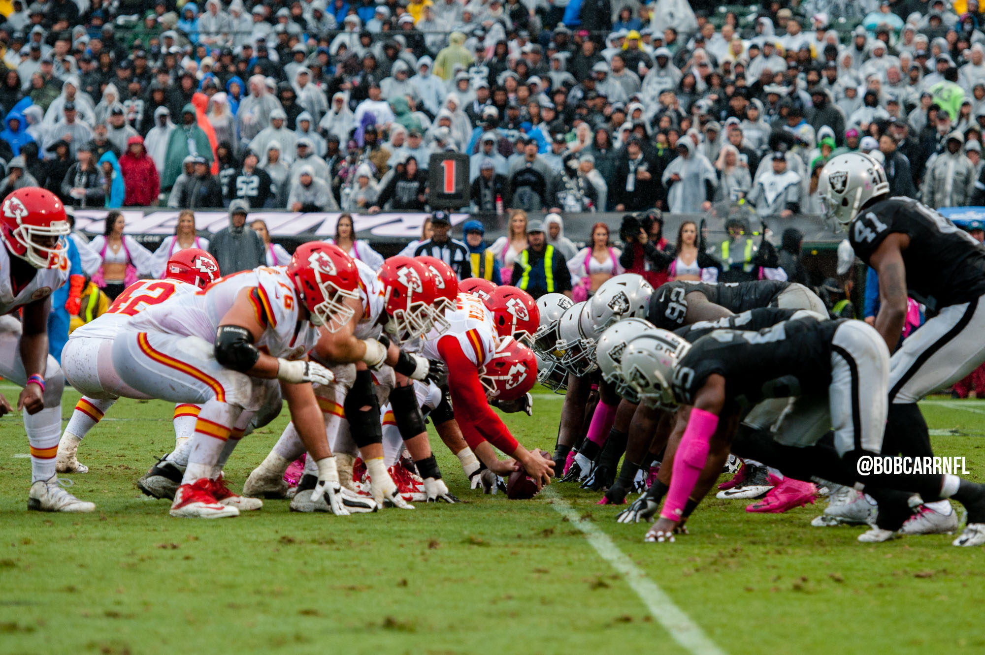 Countdown to Paydirt: Raiders host the Chiefs under the lights