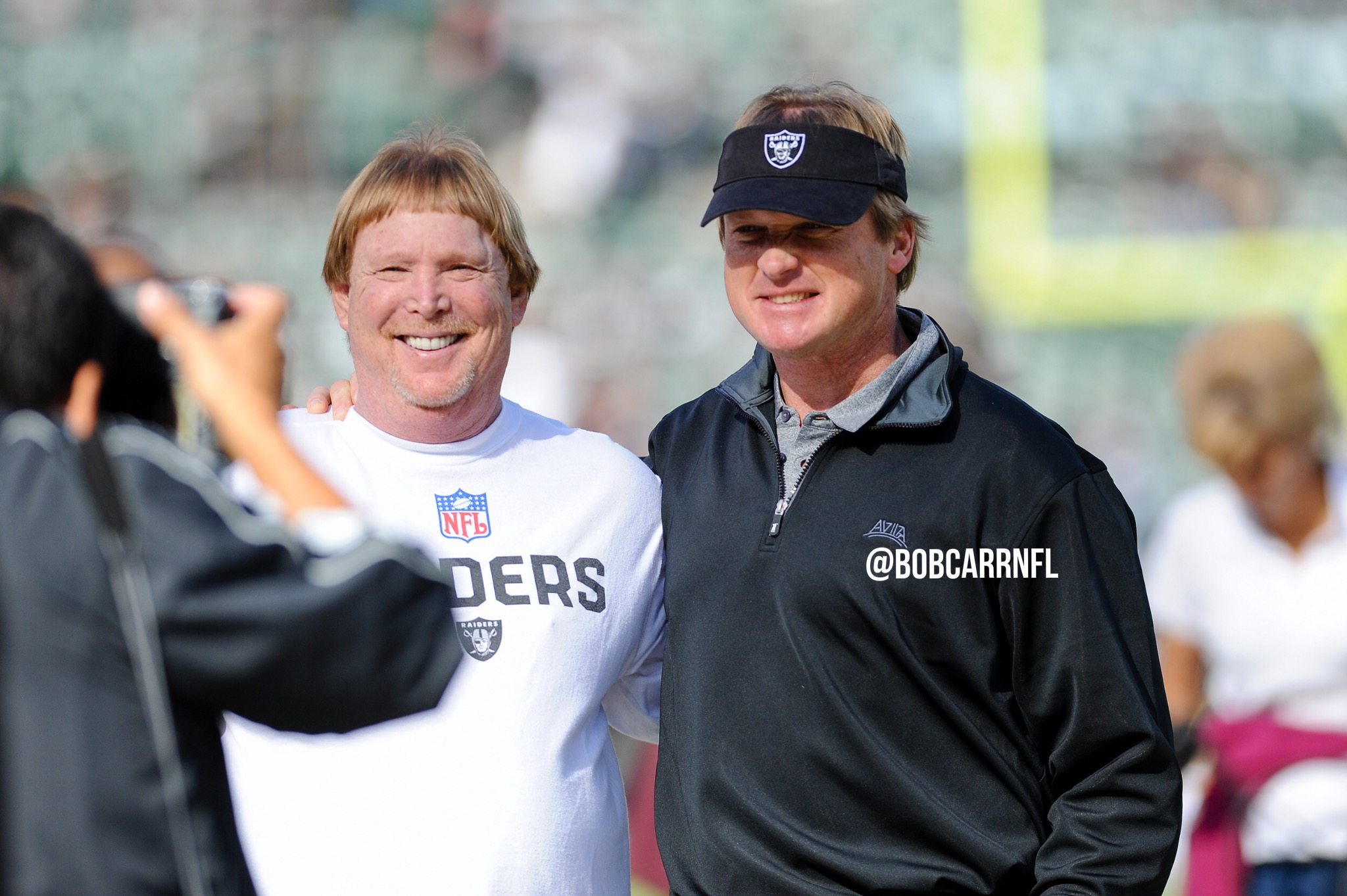 Raiders looking to add to front office
