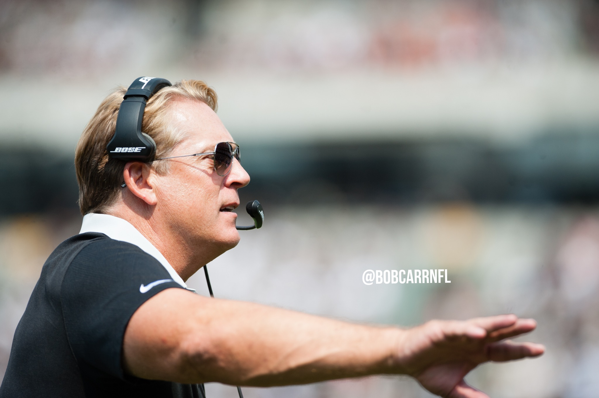 "Raiders fire head coach Jack Del Rio, ""Chucky"" coming back?"