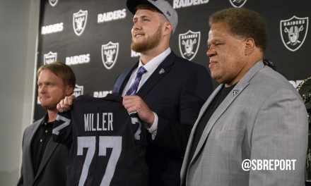 VIDEO: Raiders 1st Rd. Pick Kolton Miller Holds First NFL Presser