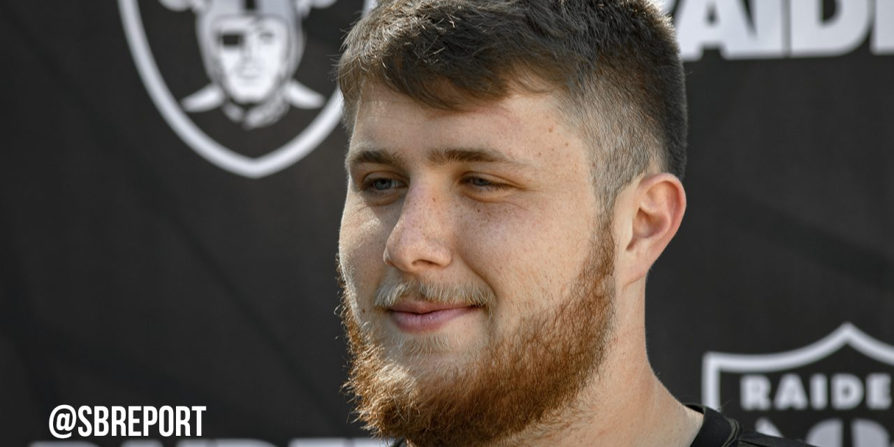 Raiders ink first-round draft pick