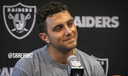 "Giorgio Tavecchio On Helping Kicker Eddy Pineiro: ""I'm here to serve. That's my mentality."""