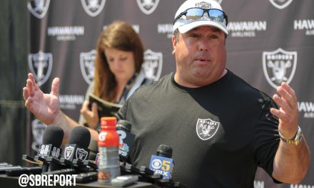 "Coach Guenther On Bruce Irvin: ""He's Had a Tremendous Camp So Far."""