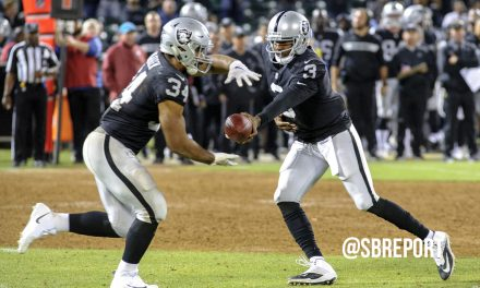 VIDEO: Jon Gruden Trying To Find A Backup To Derek Carr