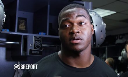 "VIDEO: WR Amari Cooper On Facing The Rams: ""I Think That We're Very Prepared"""