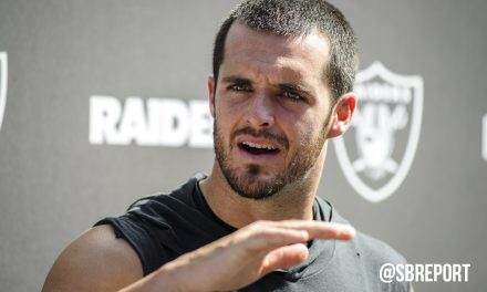 "VIDEO: Derek Carr On Sack In Miami: ""Land On Me So You Don't Hurt Yourself"""