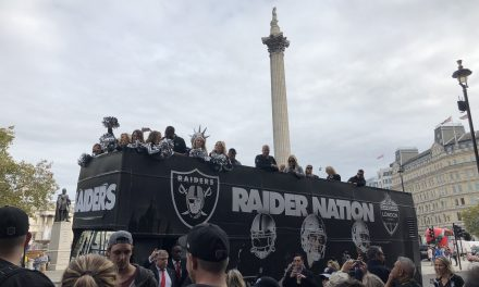 Raiders struggle across the pond, fall to Seahawks