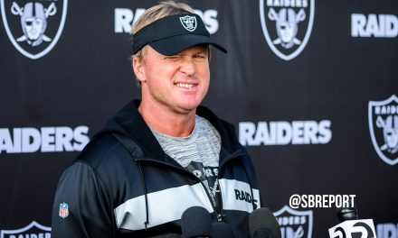 "VIDEO: Jon Gruden On Visiting Chiefs: ""We Got Our Hands Full"""