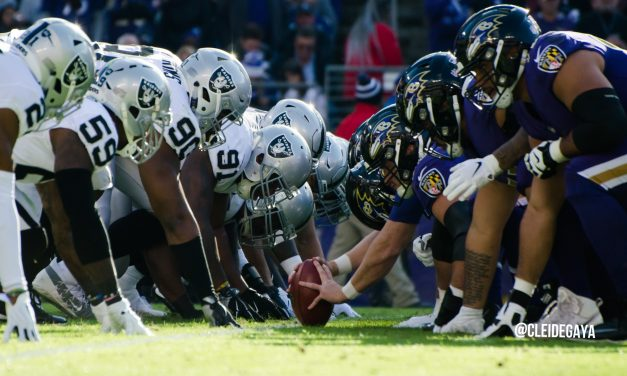 Raiders can't keep up momentum, falter in Baltimore