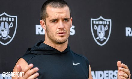 VIDEO: Derek Carr on WR Marcell Ateman Picking His Brain On Plays