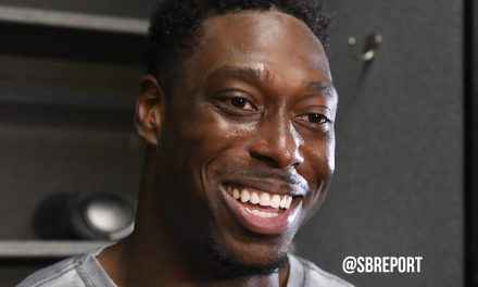 "VIDEO: Jared Cook: Someone told him that Big Ben was going to comeback/pull a ""Paul Pierce"""