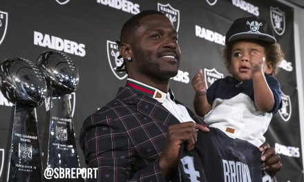 VIDEO: New Raider WR Antonio Brown Looks To Stat Chase Jerry Rice