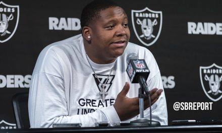 "VIDEO: Trent Brown On Being Highest Paid O-Lineman: ""…I Shed A Few Tears."""