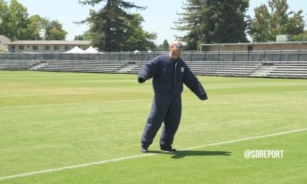 VIDEO: Police K-9 Demonstration By Visiting Law Officials After Raiders Practice