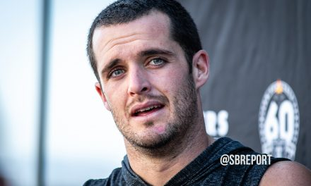 VIDEO: Derek Carr Praises His Offensive Line…Protecting Him Despite Its Multiple Injuries