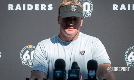 "VIDEO: Jon Gruden: ""Our Heart Is Really Torn Up"" After Losing Raider Great Willie Brown"