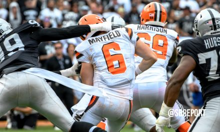 Raiders at Browns – Who, What and Where – WEEK 8, 2020