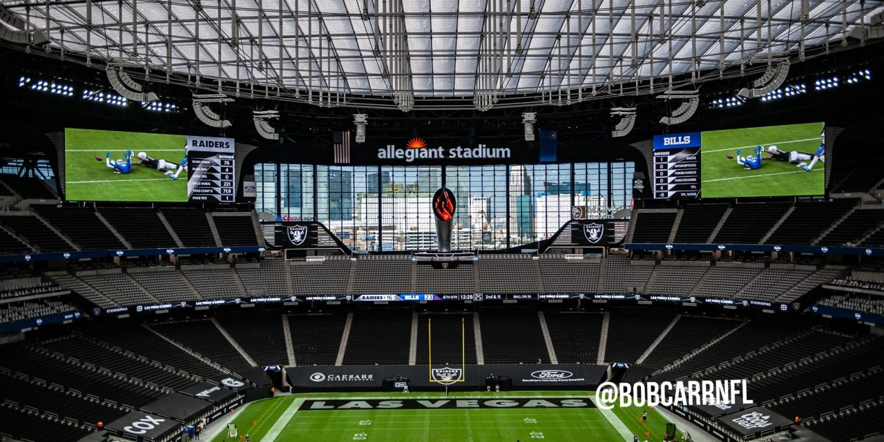 BUCS at RAIDERS – Who, What and Where – WEEK 7, 2020